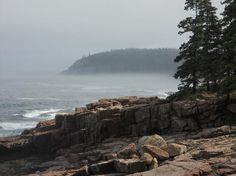Acadia National Park, Bar Harbor Maine