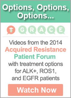 Acquired Resistance Forum Videos - Acquired Resistance Forum Video #8: Dr. Robert Doebele of the University of Colorado Cancer Center spoke to ALK and ROS1 patients about how and why their cancers become resistant to treatment and what options are available.