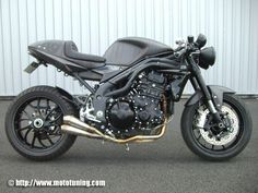 "2013 triumph cafe racer | RocketGarage Cafe Racer: Triumph Speed Triple 1050 ""Cafe Racer"""