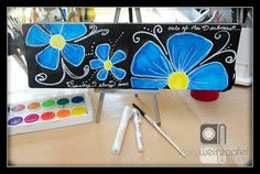 Watercolor doodling by Tracy Weinzapfel