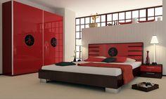 Image of: Modern Asian Bedroom Decor