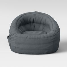 Cocoon Bean Bag Chair With Pocket Gray - Pillowfort™ : Target Bedroom Chair, Bedroom Decor, Fuzzy Bean Bag Chair, Kids Bean Bags, Kids Bean Bag Chairs, Living Room Chairs, Dining Chairs, Ikea Chairs, Game Room Chairs