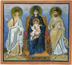 A New Icon of St. Mary of Egypt and St. Silouan Justiniano In thee, O Mother, was exactly preserved what was according to the divine image. Byzantine Icons, Byzantine Art, St Mary Of Egypt, Mary And Jesus, Johannes, Religious Images, Orthodox Icons, Sacred Art, People Art