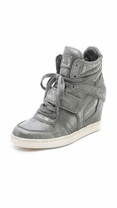 Ash Cool Ter Wedge Sneakers $295 my head says they re ugly.... my heart still wants them on ma feeeet