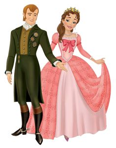 King Roland and Queen Miranda