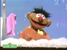 Sesame Street Song: Ernie & his Rubber Ducky. --- Rubber Ducky, you're the one, You make bathtime lots of fun! Fraggle Rock, My Childhood Memories, Sweet Memories, Jim Henson, 90s Kids, Old Tv, My Memory, The Good Old Days, Rubber Duck