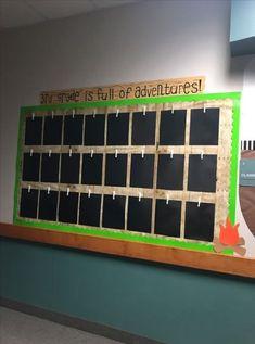 34 Ideas Camping Theme Preschool Bulletin Boards For 2019 Forest Classroom, Jungle Theme Classroom, Outdoor Classroom, Classroom Themes, Classroom Activities, Camping Theme For Classroom, Panda Activities, Future Classroom, Camping Bulletin Boards