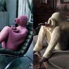 For those cold winter days when you're feeling anti-social HAHA!! I don't know why, but this is HILARIOUS! :)