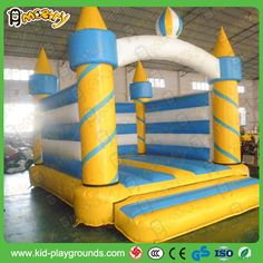Inflatable Castle trampoline Bed