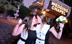 Same Sex Wedding Via The Gay Chapel Of Las Vegas Part Viva