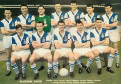 Blackburn Rovers team group in Retro Football, School Football, Football Team, Soccer Teams, Blackburn Rovers Fc, Bristol Rovers, Laws Of The Game, Association Football, Most Popular Sports