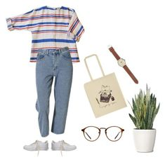 """""""Untitled #465"""" by johannehhansen ❤ liked on Polyvore featuring Ulster Weavers, NIKE, J.Crew and PLANT"""