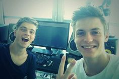 Martin Garrix and Julian Jordan