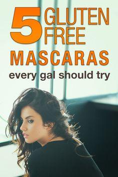 5 Gluten Free Mascaras Every Gal Should Try – Gluten Free Makeup Gal
