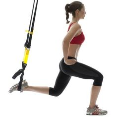 TRX training is a great way to work your entire body through coordination, balance, and strength!   For more, visit http://bethalexanderfitness.com  #bethalexanderfitness #TRX #balance #strength #fitness #workout #equipment  #fit #workout