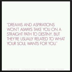 About dreams & aspirations ~ from Kelly Cutrone @peoplesrev