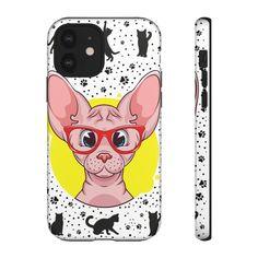 Voici ce que je viens d Chat Sphynx, Telephone Iphone, Samsung, Sculptures, Phone Cases, Etsy, Cat Love, Bite Size, Sculpture