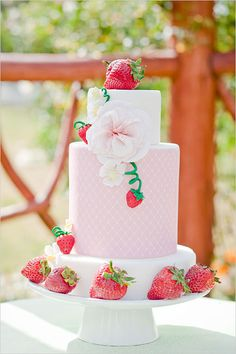 Strawberry Garden | 50 Bridal Shower Theme Ideas | POPSUGAR Love & Sex