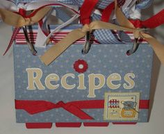 Image detail for -Three Ring Chipboard Recipe Book by tivodiva - Cards and Paper Crafts ...