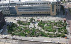 Unique and less-formal urban park.