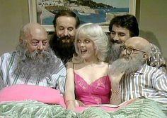 Bearded bed fellows