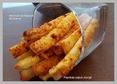 Habverő és fakanál: Paprikás sajtos stangli