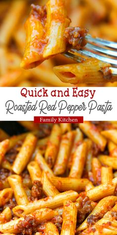 The Best of Roasted Red Pepper Pasta Best Pasta Recipes, Healthy Dinner Recipes, Chicken Recipes, Cooking Recipes, Roasted Red Pepper Pasta, Roasted Red Peppers, Red Pepper Recipes, Avocado Recipes, How To Cook Pasta