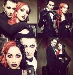 ashley costello and chris motionless - Google Search