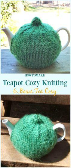 Basic Tea Cosy Free Knitting Pattern - #Teapot; Cozy Free #Knitting; Patterns