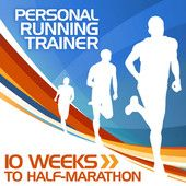So awesome... just found this personal trainning system that you can upload to your ipod or iphone. Playlists included with songs that go with intensity of workout! 10 Weeks to Half-Marathon Training Program, Personal Running Trainer