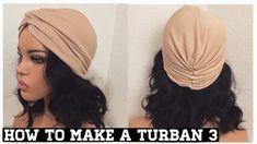 How to Make Turban Knot Headband Turban Headband Tutorial, Baby Turban Headband, Head Turban, Twist Headband, Head Scarf Styles, Headband Styles, How To Make Turban, Mode Turban, Hat Patterns To Sew