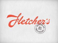 Fletcher's by Oat, via #Behance #Design #Identity