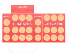 play food box printables: crackers, salt, cereal, pizza, macaroni ...