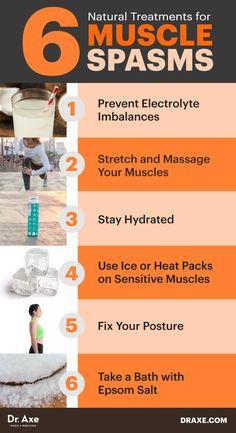 Spasms: Remedies for Spasms, Cramps & Charley Horse Remedies for Muscle Spasms, Leg Cramps & the Charley Horse - Dr. AxeRemedies for Muscle Spasms, Leg Cramps & the Charley Horse - Dr. Natural Treatments, Natural Remedies, Herbal Remedies, Holistic Remedies, Hernia, Leg Pain, Health Matters, Health Remedies, Cramp Remedies