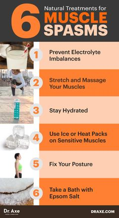 Six natural treatments for muscle spasms - Dr. Axe http://www.draxe.com #health #holistic #natural