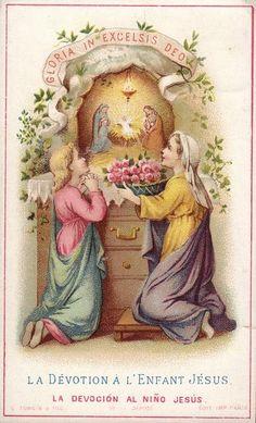 Devotion to the infant Jesus.