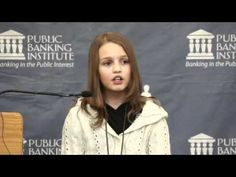 Victoria Grant - 12yo girl exposes Canada banking flaws