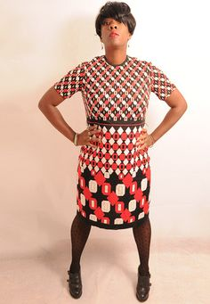 1960's Vintage OP ART Geometric Patterned Mod Dress - lovethebaroness vintage South London, Fashion Videos, Mod Dress, Op Art, Vintage Outfits, Clothes, Shopping, Dresses, Style