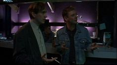 Tony Wilson and Bernard Sumner (New order, Joy division) characters - 24 hours party people