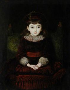 Day Dreams(Miss Effie Millais, daughter of the artist) - 1874 - East Ayrshire Council