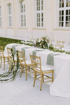 Elegant wedding tablescape | Wedding & Party Ideas | 100 Layer Cake
