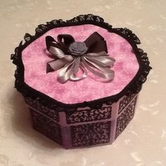 Sent in by Margaret Redfern Your Cards, Decorative Boxes, Decorative Storage Boxes