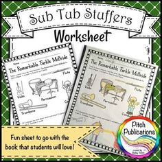 Music Sub Tub Stuffers: K-2 Substitute Plan - The Remarkable Farkle McBride                                                                                                                                                     More