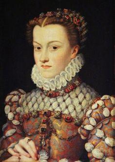 Elisabeth of Austria (1554–1592) Queen of France, ca. 1571, by François Clouet (1515–1572)