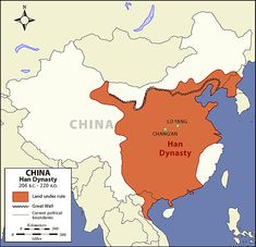 Han Dynasty Map - The Art of Asia - History and Maps
