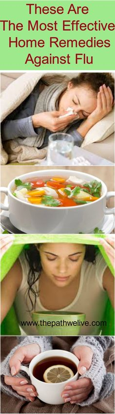 #Effective #Remedies #Homemade #Natural #Flu