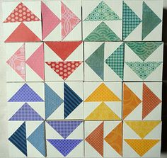 Needles 'n' Knowledge: Flying Geese Quilt Puzzle Blocks Patterns