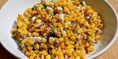 Grilled Corn and Jalapeño Salad  Mmmmm...making for camping this weekend!!!