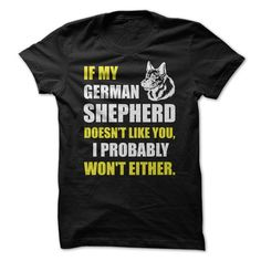 Trust theξdog's judgement of people! German Shepherdsξare much more intuitive than us humans.