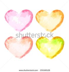 vector hearts set - stock vector  #abstract #art #artistic #artwork #background #bright #card #celebration #color #colorful #copyspace #creative #creativity #decoration #decorative #design #drawing #element #flow #gradient #graphic #greeting #grunge #handmade #happy #heart #holiday #illustration #image #isolated #letter #love #lovely #modern #paint #pattern #pink #red #romance #romantic #scrapbook #shape #splash #stain #symbol #texture #textured #vector #watercolor
